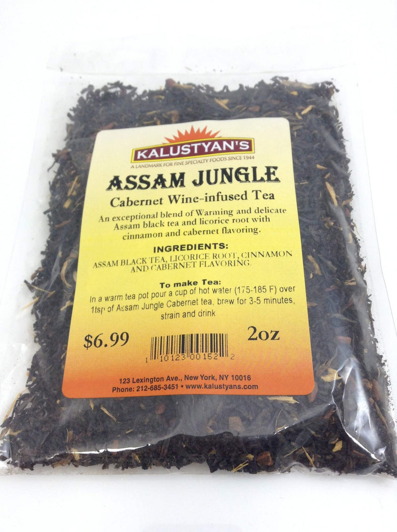 Assam Jungle, Cabernet Wine-Infused Tea