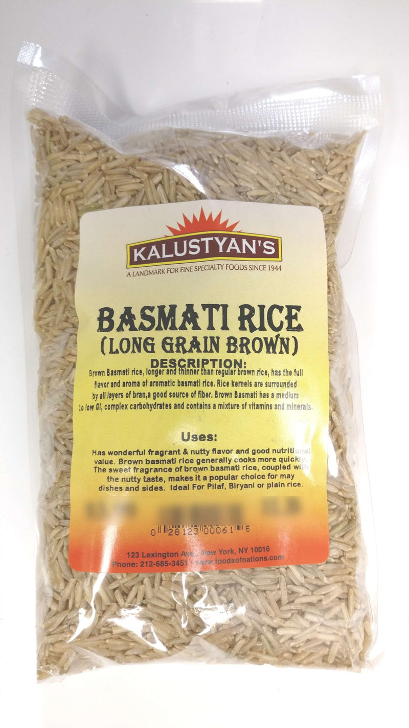 Basmati Rice, Brown