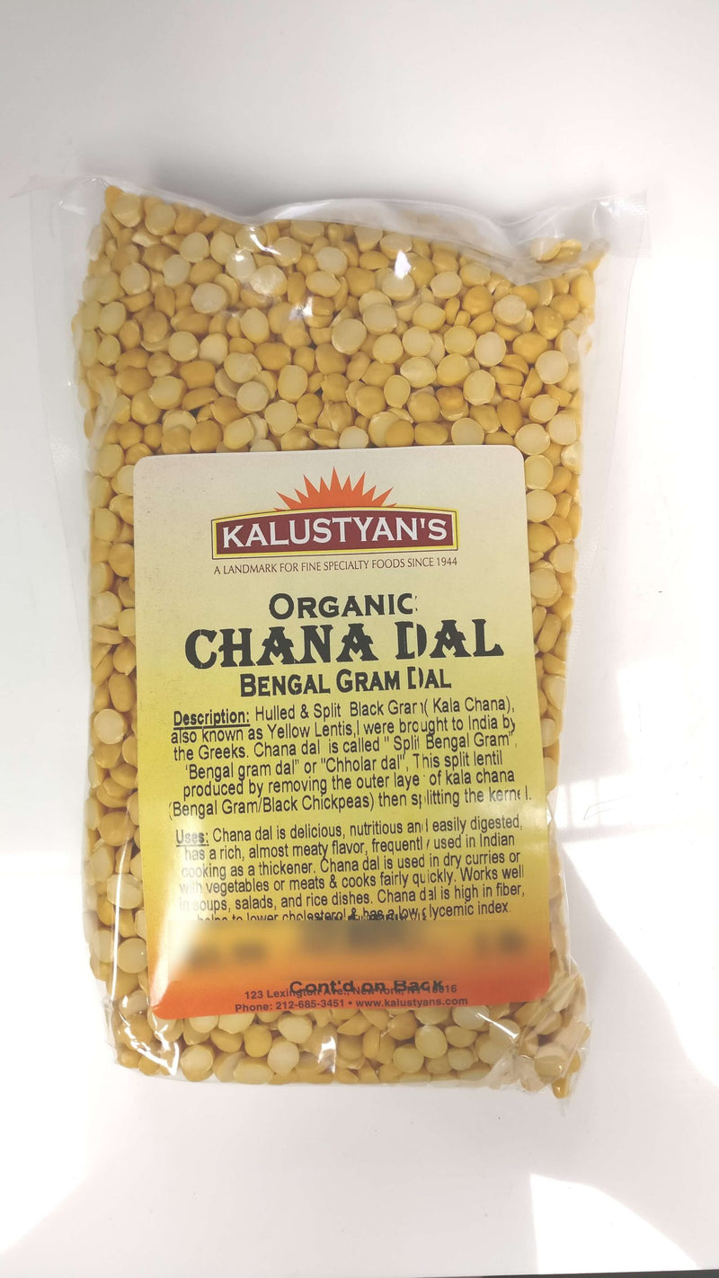 Chana Dal (Yellow Split Gram), Organic