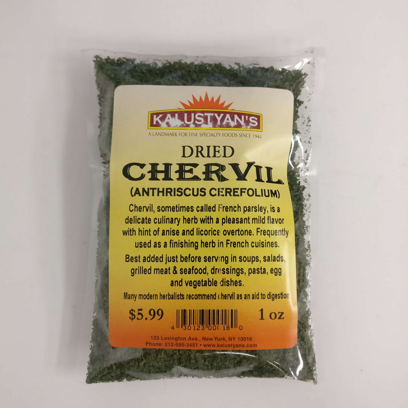 Chervil, dehydrated