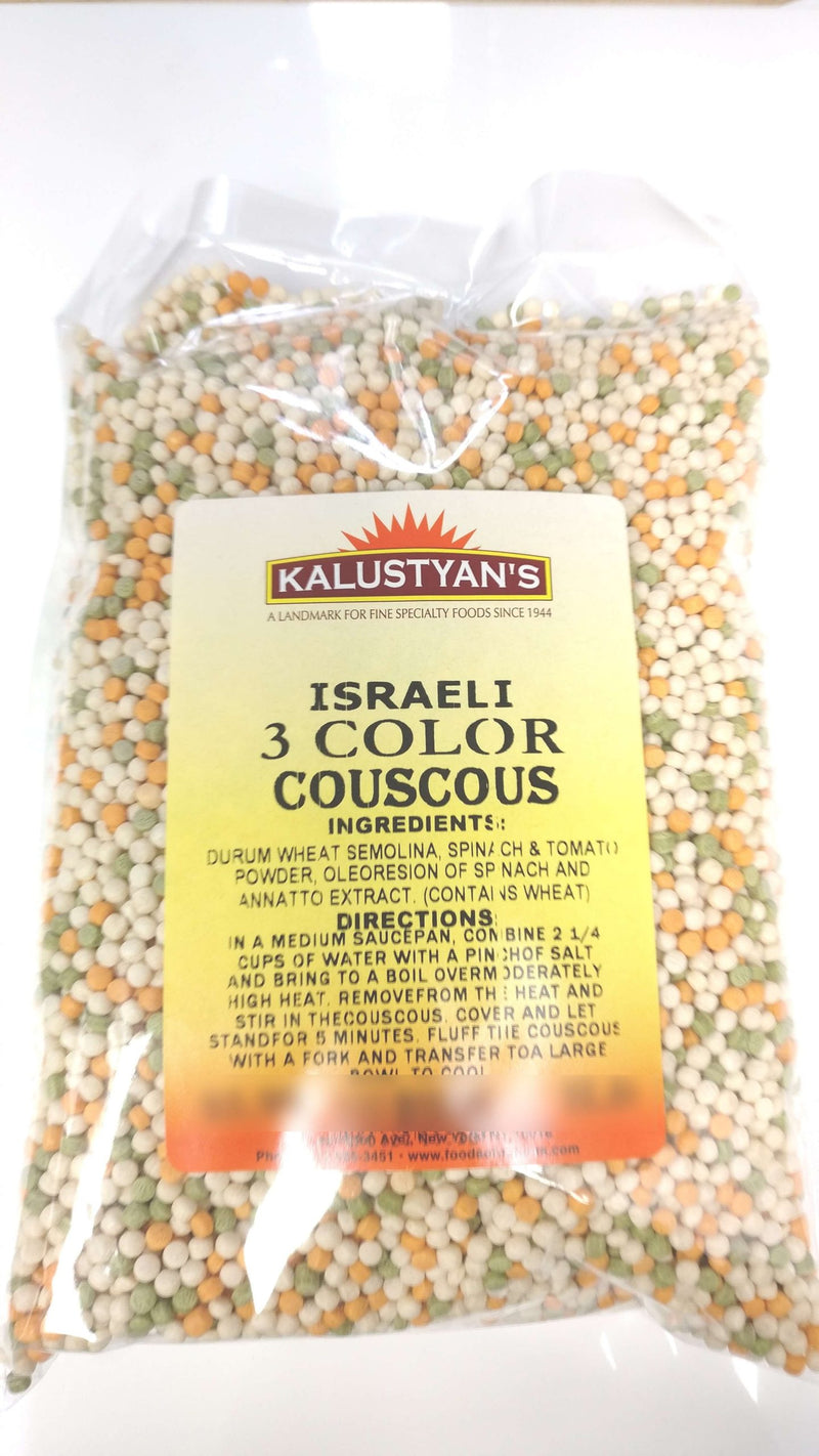 Tri-colored Couscous, Israeli, Kosher