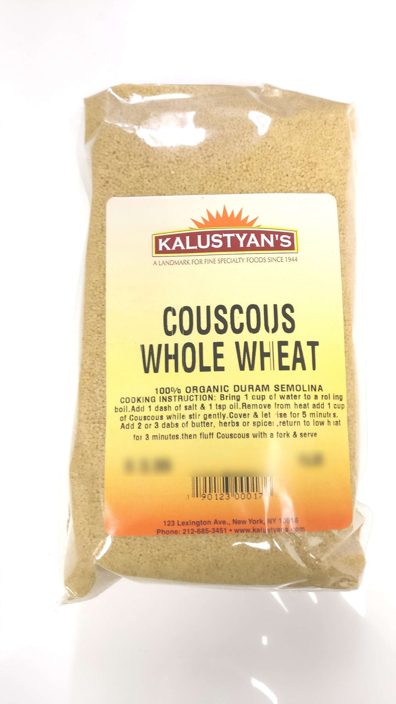 Couscous, Whole Wheat, Organic, Kosher
