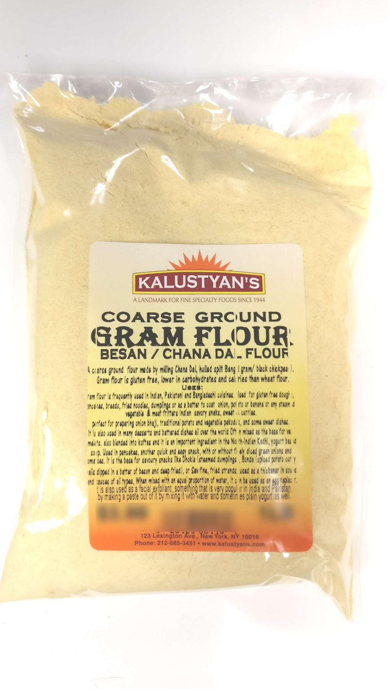 Gram Flour (Besan / Chana Dal Flour), Coarse Ground