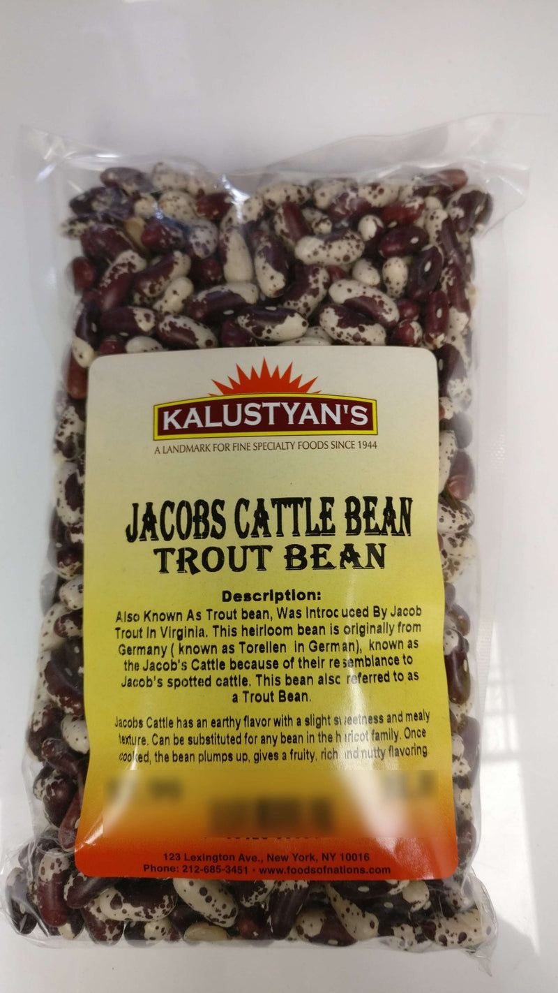 Jacobs Cattle Bean, Dry