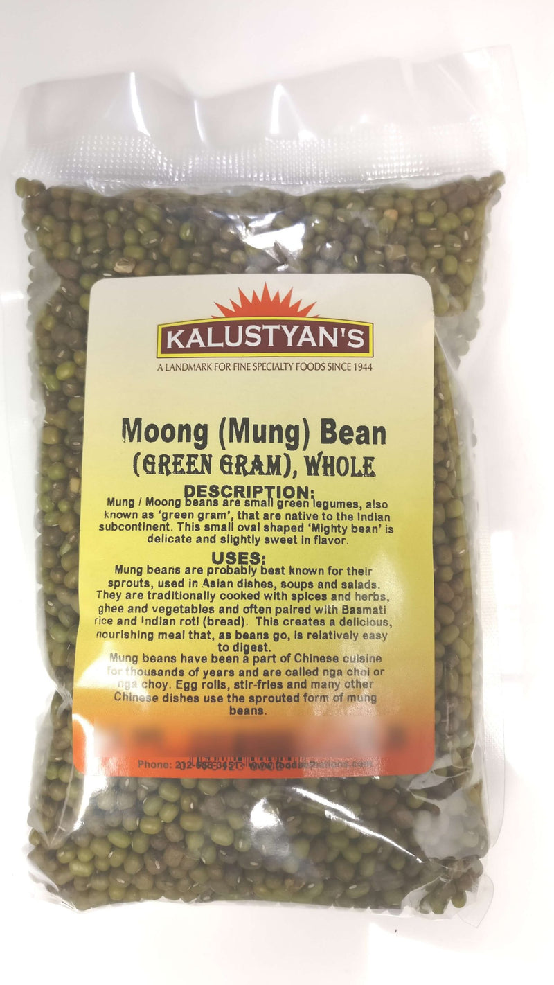Moong (Mung / Green Gram) Bean, Dry