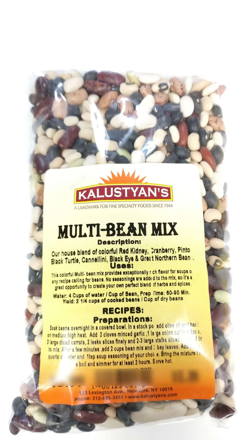 Multi-Bean Mix, Dry