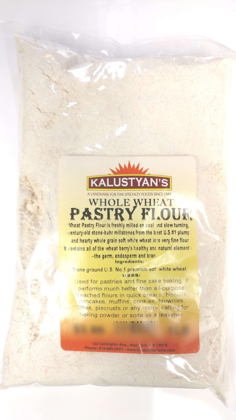Pastry Flour, Whole Wheat