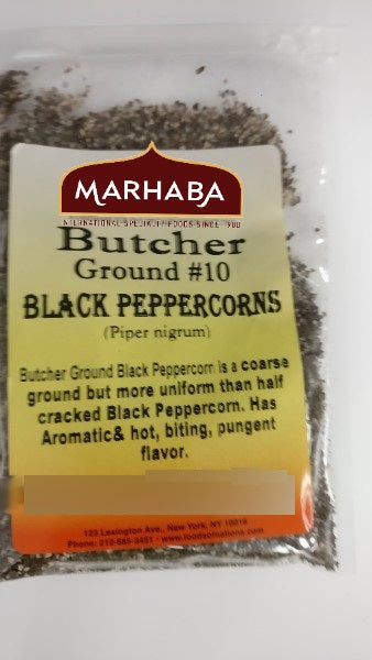 Black Peppercorn, Butcher Ground (