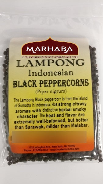 Black Peppercorn, Lampong, Indonesia
