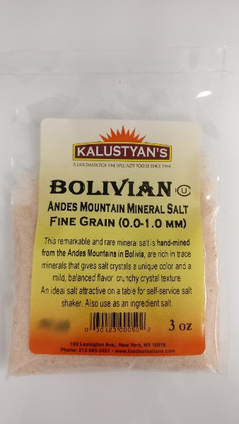 Bolivian Andes Mountain 'Salt Rose', Fine Grain