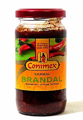 Sambal Brandal, Hot Red Chili Paste