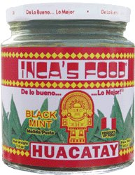 Huacatay (Black Mint) Molido / Paste