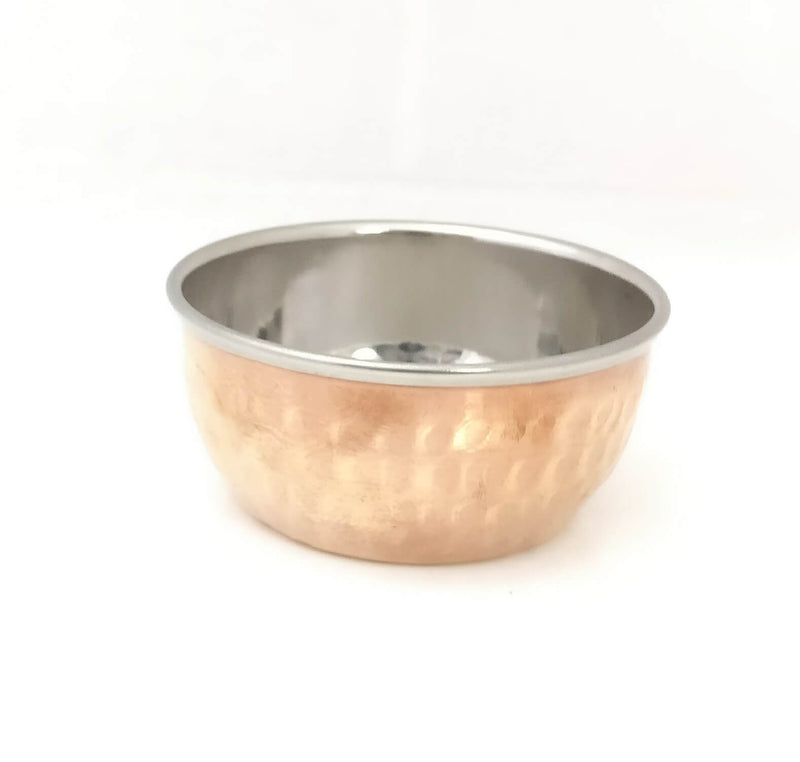 Katori, S/Steel Bowl with Copper Bottom,
