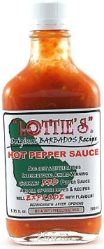Red Pepper Sauce, Original Barbados Recipe