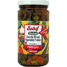 Mixed Vegetable (Crunchy) Pickles, Mediterranean Style