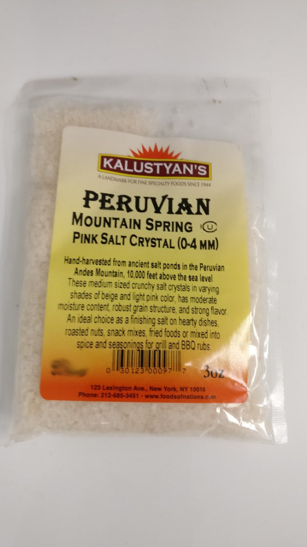 Peruvian Mountain Spring Pink Salt Crystal (0-4mm)