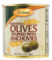Manzanilla Olives Stuffed With Anchovies, Spain