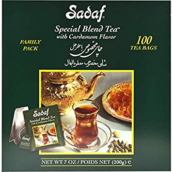 Special Blend Tea Bag with Cardamom flavor