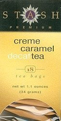 Creme Caramel Tea, Decaf