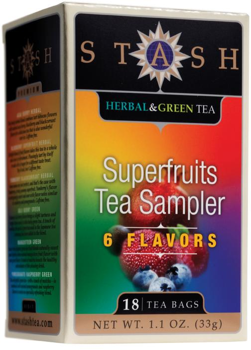 Superfruits Tea Sampler (6 Flavor)