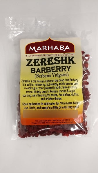 Zereshk / Barberi (Dried)