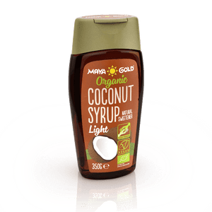 Organic Coconut Syrup Light - 350gr/250ml