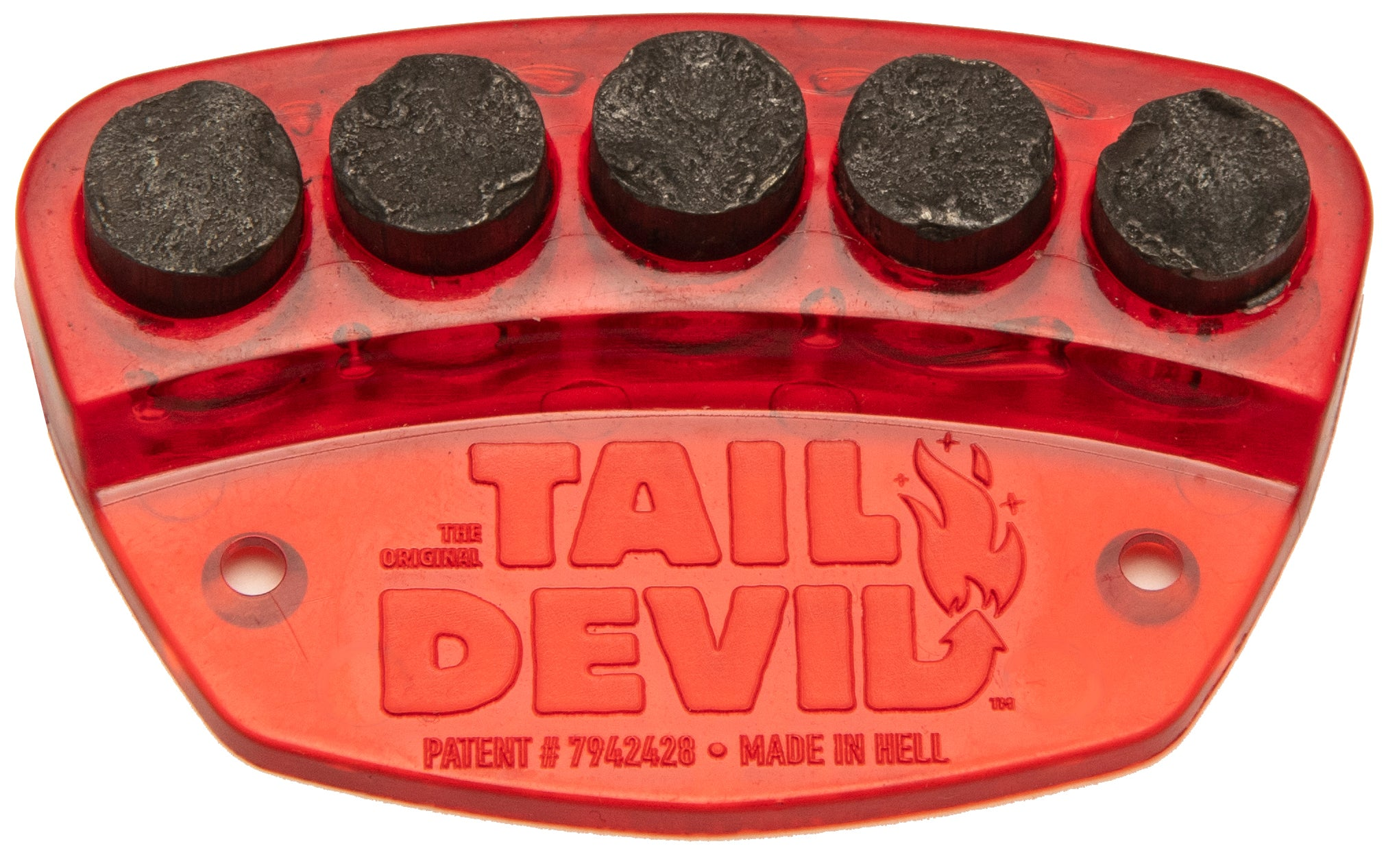 The Original Tail Devil skateboard spark plate