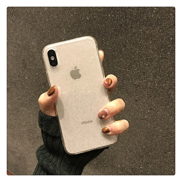 Glitter Phone Cases for iPhone X