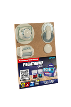 Load image into Gallery viewer, Pegatanke White | 2 Part Epoxy Resin | 44ml | Aesthetic Finish | Waterproof
