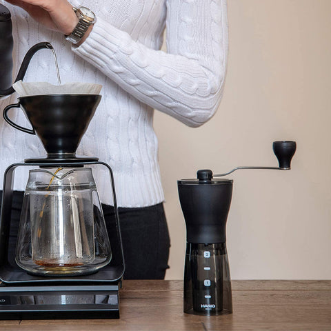Hario V60 Pourover with Stand and Kettle