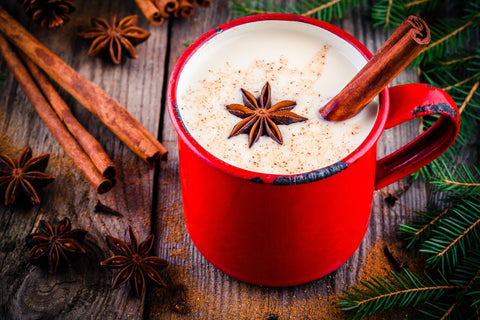 """Photo <a href=""""https://www.dreamstime.com/stock-photo-christmas-drink-hot-white-chocolate-cinnamon-anise-red-mug-star-wooden-rustic-background-image80023563"""">80023563</a> © <a href=""""https://www.dreamstime.com/kondratova_info"""" itemprop=""""author"""">Kondratova</a> - <a href=""""https://www.dreamstime.com/photos-images/hot-white-chocolate.html"""">Dreamstime.com</a>"""