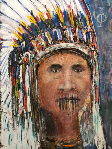 American Indian by Greg Latch