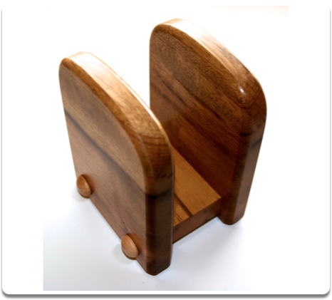 Myrtlewood Napkin Holder