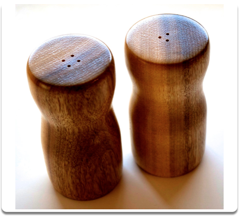 Myrtlewood Salt & Pepper