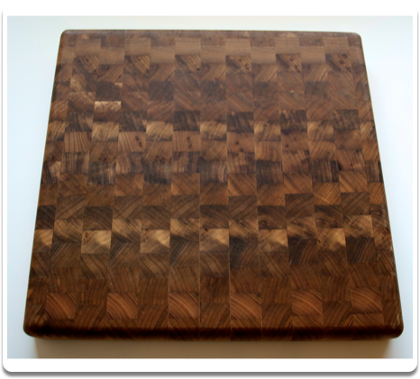 Myrtlewood Chopping Block - 12""