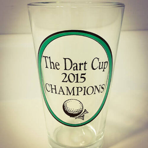 Dart Cup personalized pub glass
