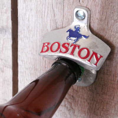 Bottle opener from Boston