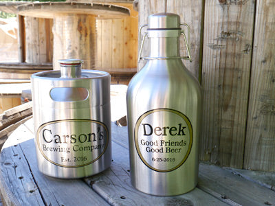 Custom Beer Growlers