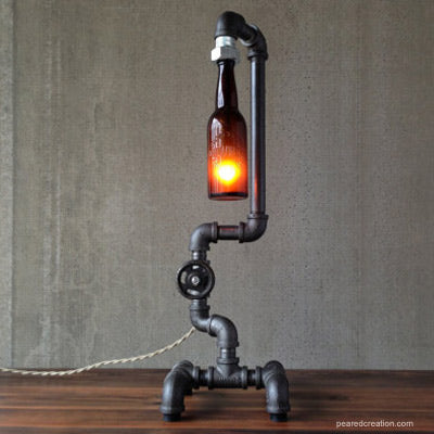 man cave lighting. Industrial Lighting Man Cave Idea
