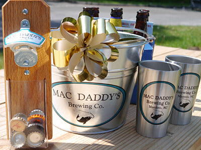Beer lover's gift basket