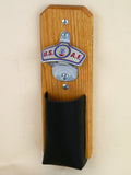 US Air Force Capcatcher Bottle Opener with leather pouch