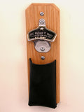 Personalized United States Army Wall Bottle Opener