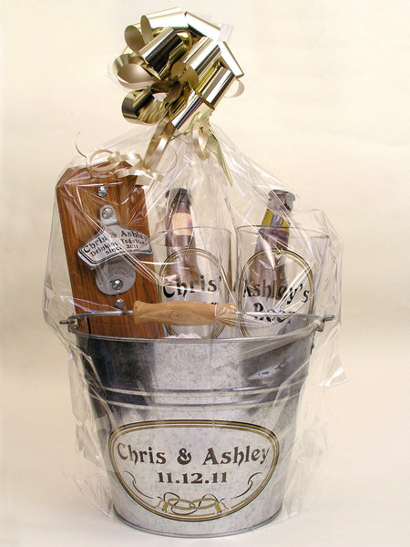 Personalized Wedding Gift Basket