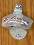 Budweiser Wall-Mount Bottle Opener