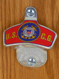 US Coast Guard Wall-Mount Bottle Opener