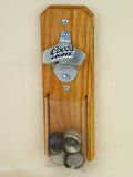 Coors Light Capcatcher Bottle Opener with clear pouch