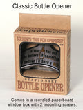 Classic Novelty Wall-Mount Bottle Opener