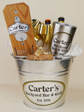 Personalized Gift Basket with Capcatcher and Stainless Steel Tumbler