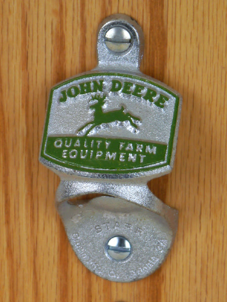 John Deere Wall-Mount Bottle Opener