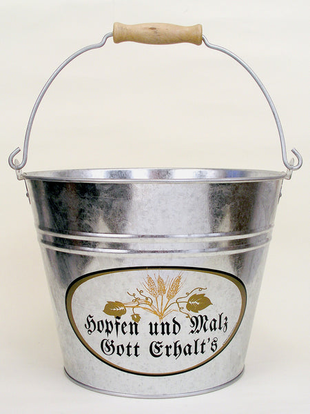 German Ice Bucket: God Bless Hops and Malt